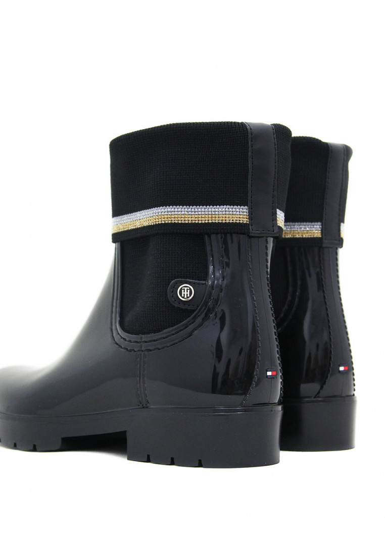 tommy-hilfiger-knitted-sock-rain-boot-negro