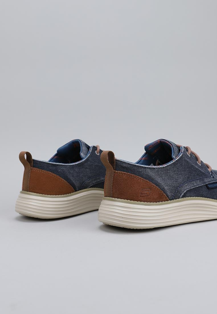 zapatos-hombre-skechers-azul