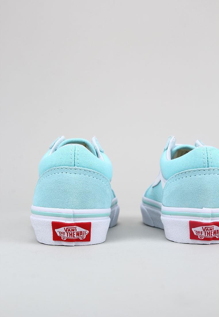 zapatos-para-ninos-vans-turquesa