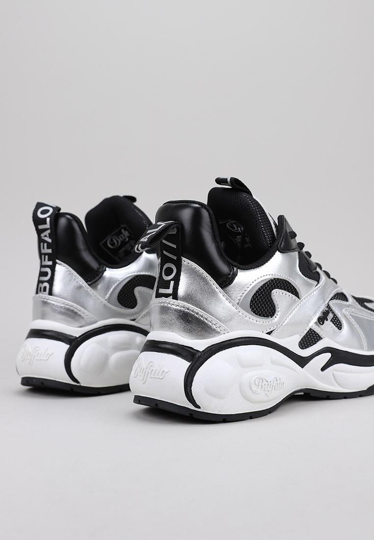 zapatos-de-mujer-buffalo-london-plata